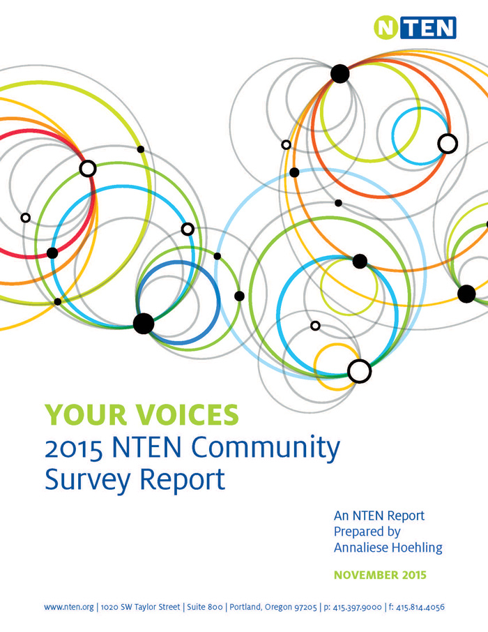 Your Voices: 2015 NTEN Community Survey Report